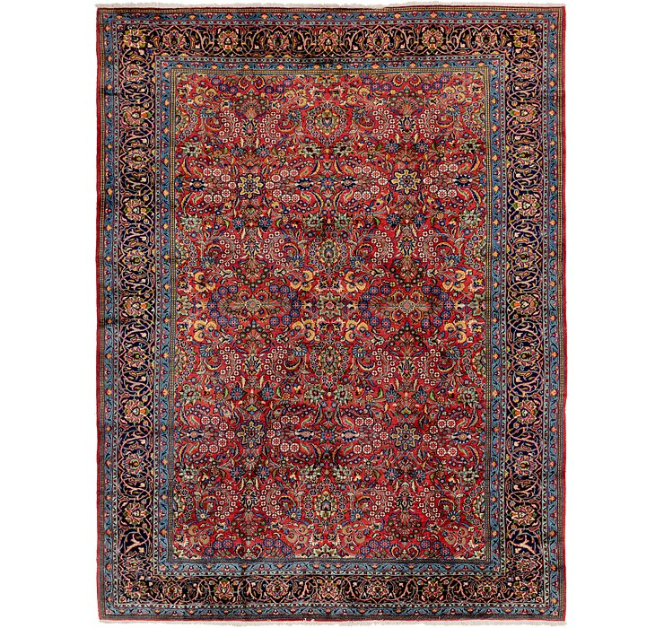 8' 4 x 11' 4 Golpayegan Persian Rug