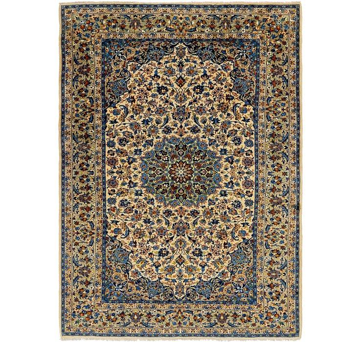 8' 7 x 12' 2 Isfahan Persian Rug