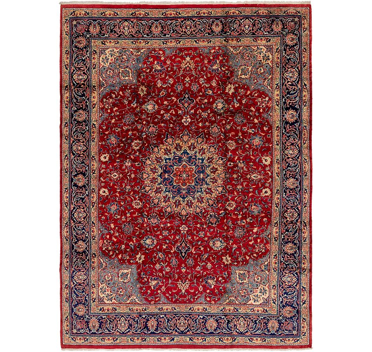 9' 8 x 13' 9 Sarough Persian Rug