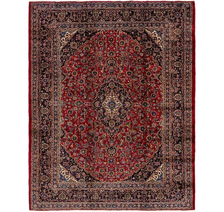 HandKnotted 10' 2 x 12' 9 Mashad Persian Rug