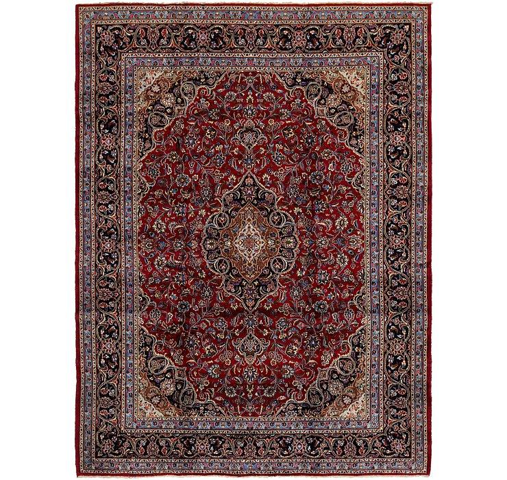 HandKnotted 9' 6 x 13' Mashad Persian Rug