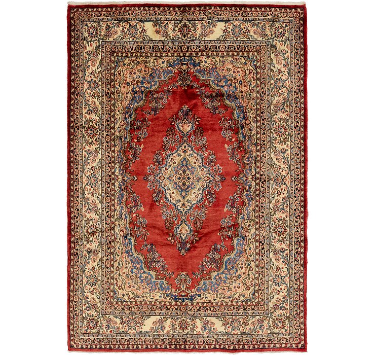 HandKnotted 7' x 10' 3 Shahrbaft Persian Rug