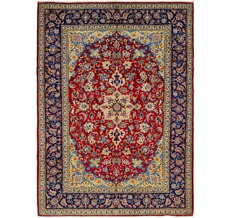 7' 2 x 9' 10 Isfahan Persian Rug