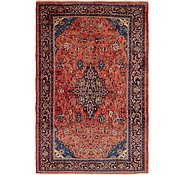 Link to 7' x 11' Sarough Persian Rug