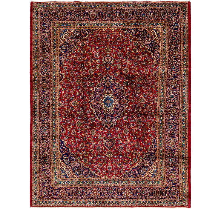 HandKnotted 10' x 12' 8 Mashad Persian Rug
