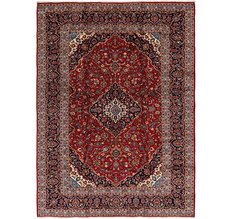 HandKnotted 9' 6 x 13' 2 Kashan Persian Rug