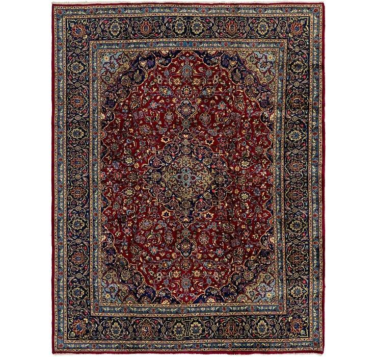 HandKnotted 10' x 12' 9 Mashad Persian Rug