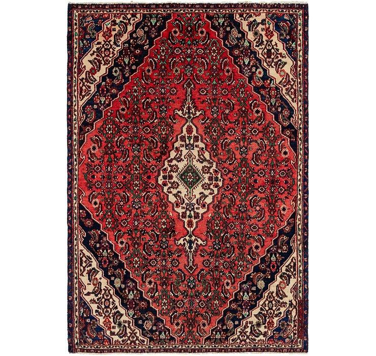 5' 9 x 8' 5 Hamedan Persian Rug