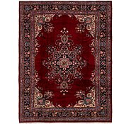 Link to 8' 9 x 11' 7 Mashad Persian Rug