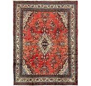Link to 8' 10 x 11' 4 Hamedan Persian Rug