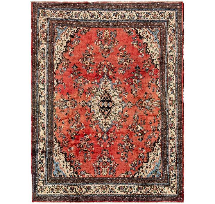 8' 10 x 11' 4 Hamedan Persian Rug