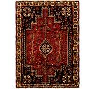 Link to 175cm x 250cm Ghashghaei Persian Rug