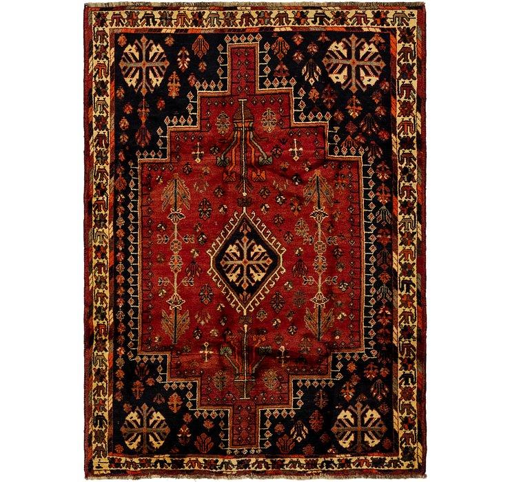 5' 9 x 8' 2 Ghashghaei Persian Rug