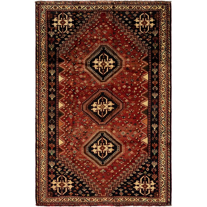 6' 2 x 9' 4 Ghashghaei Persian Rug
