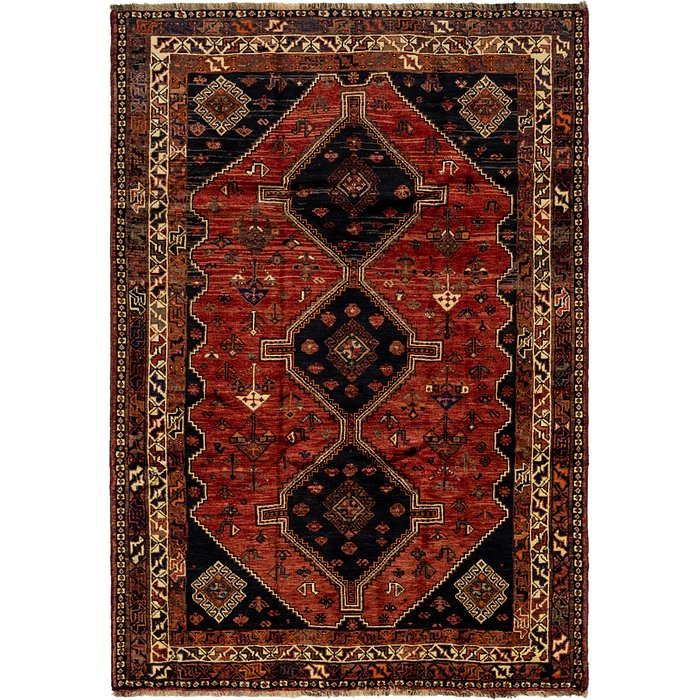 5' 8 x 8' 3 Ghashghaei Persian Rug