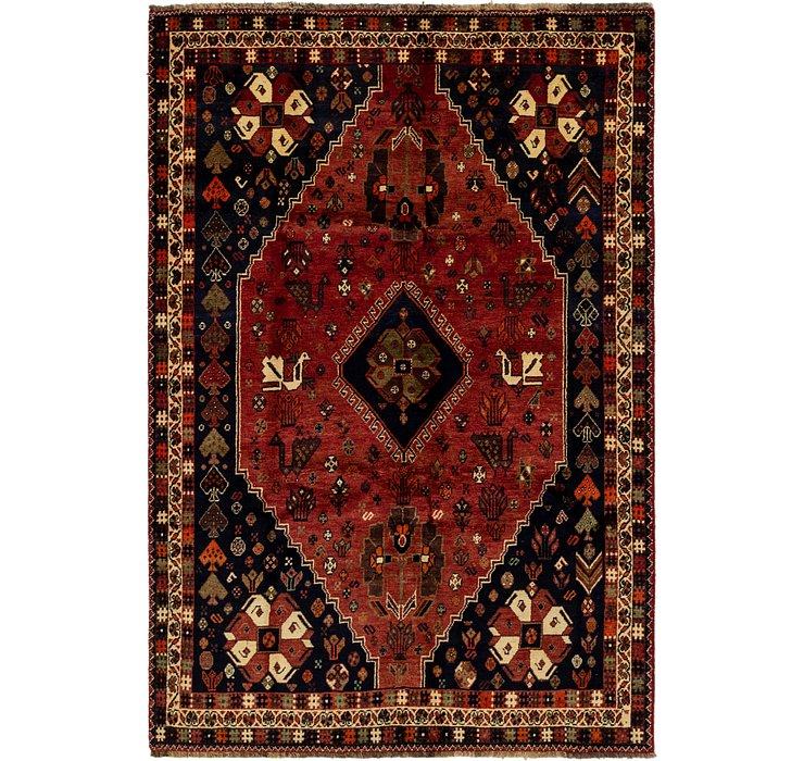 5' 8 x 8' 8 Ghashghaei Persian Rug