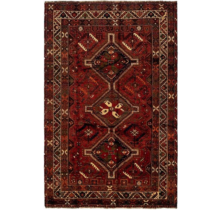 5' 8 x 8' 9 Ghashghaei Persian Rug