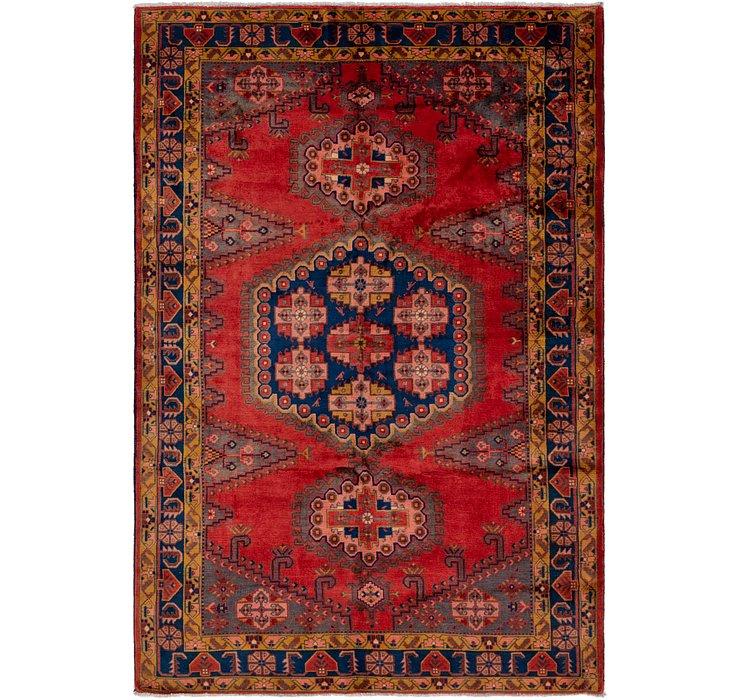 6' 7 x 10' Viss Persian Rug