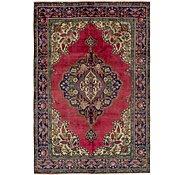 Link to 6' 8 x 10' Tabriz Persian Rug