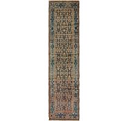 Link to 102cm x 420cm Hossainabad Persian Runner Rug
