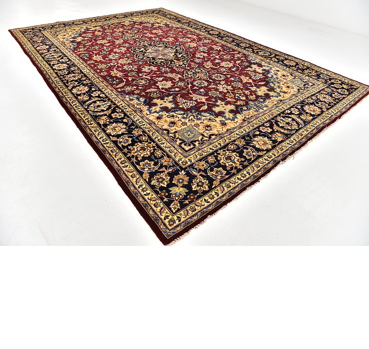 9' 8 x 14' Isfahan Persian Rug