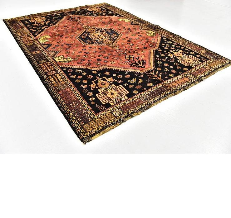 7' x 10' Ghashghaei Persian Rug