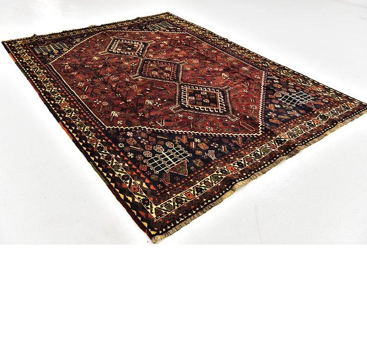 6' 10 x 9' 4 Ghashghaei Persian Rug