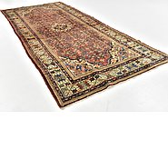 Link to 4' 9 x 11' Hossainabad Persian Runner Rug