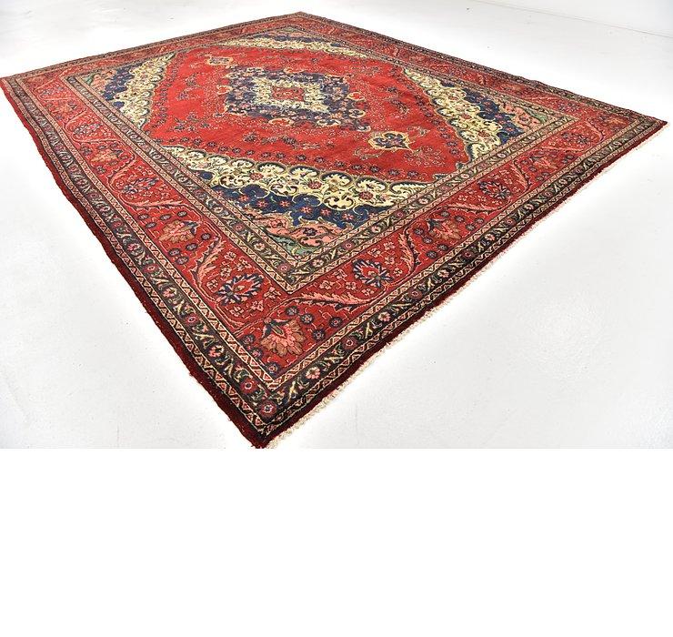 10' 2 x 12' 8 Tabriz Persian Rug