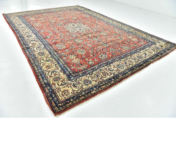 9' 2 x 13' 3 Sarough Persian Rug