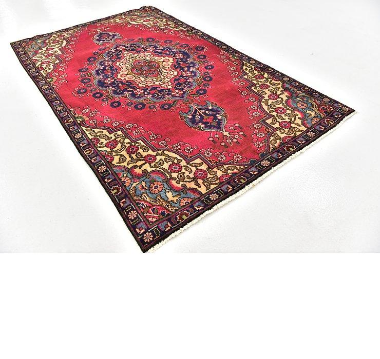 4' 4 x 7' 4 Tabriz Persian Rug