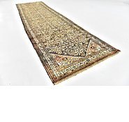 Link to 110cm x 420cm Hossainabad Persian Runner Rug