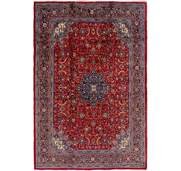 HandKnotted 10' x 14' 2 Mahal Persian Rug