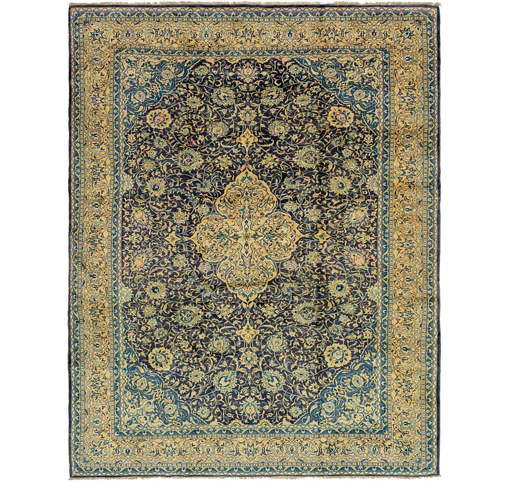 10' x 12' 9 Sarough Persian Rug