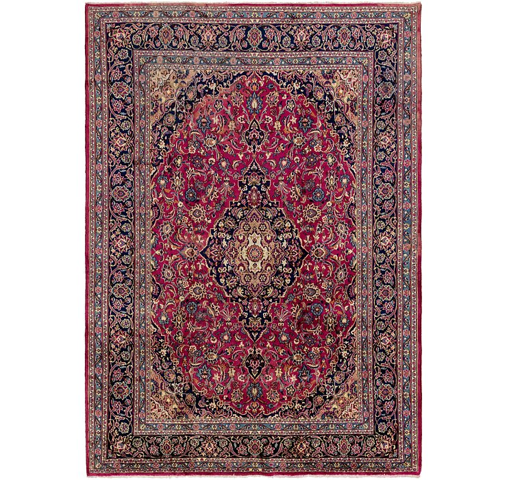 9' 7 x 13' 4 Mashad Persian Rug