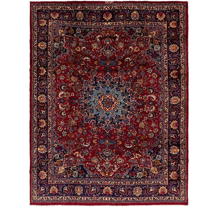 9' 8 x 12' 3 Mashad Persian Rug