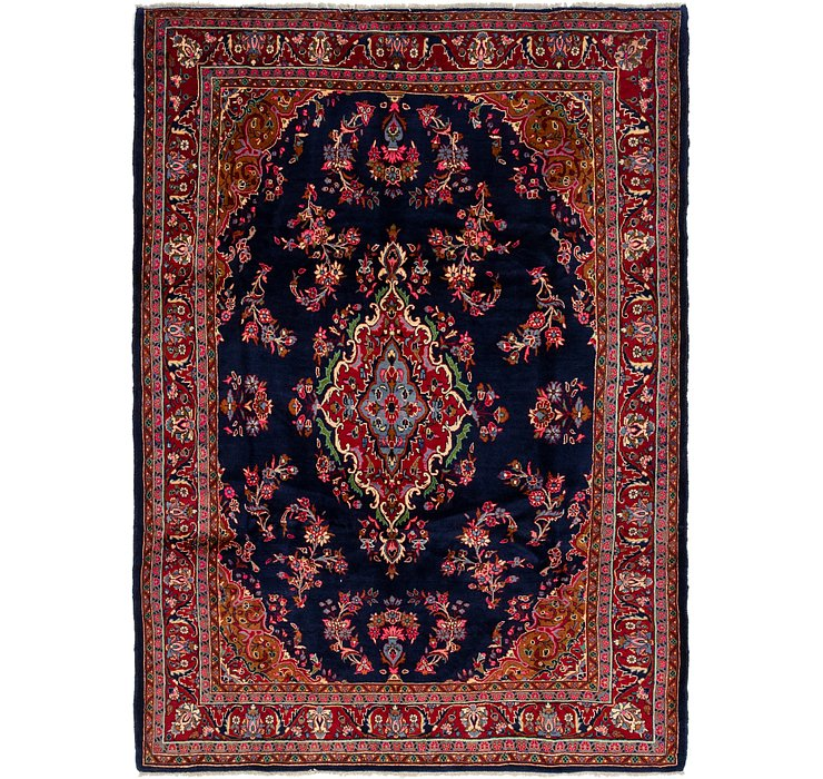 7' 2 x 9' 10 Golpayegan Persian Rug