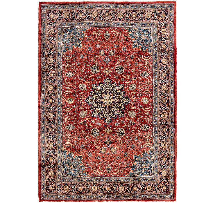 262cm x 375cm Sarough Persian Rug