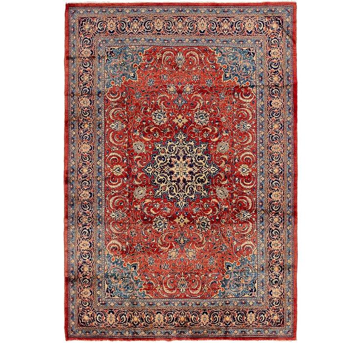 8' 7 x 12' 4 Sarough Persian Rug