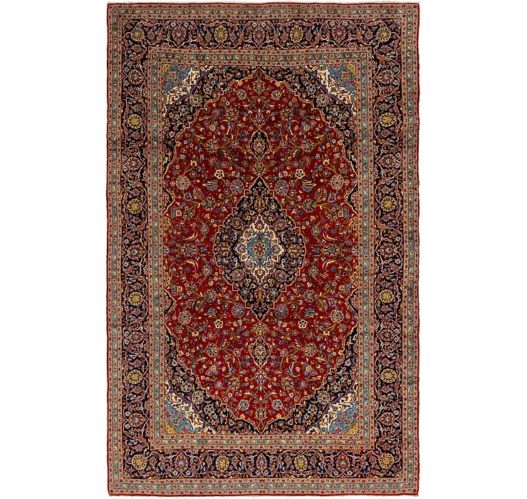 9' 9 x 15' 3 Kashan Persian Rug