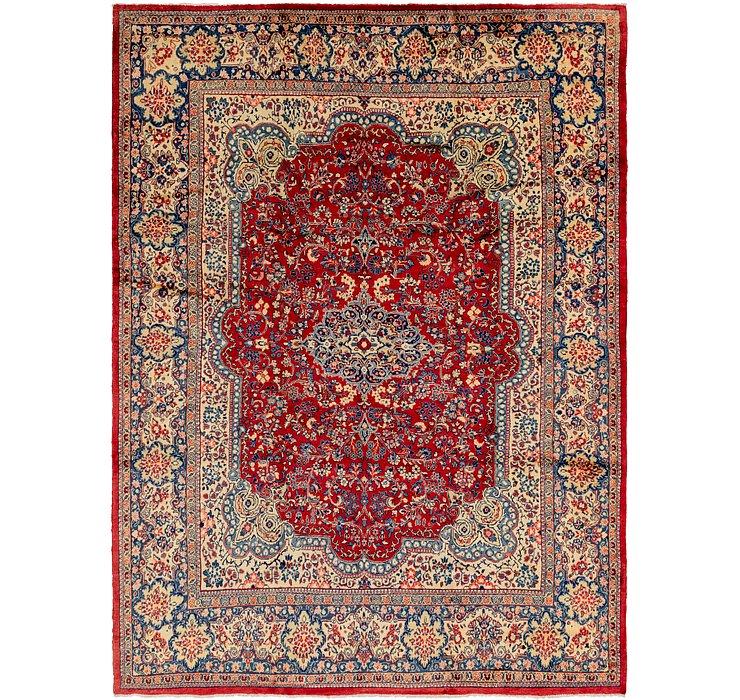10' x 13' 7 Meshkabad Persian Rug