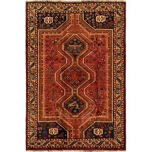 Link to 173cm x 260cm Ghashghaei Persian Rug item page