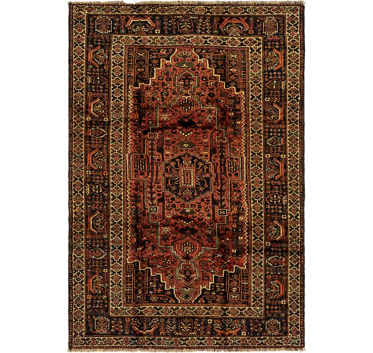 6' 3 x 9' 2 Ghashghaei Persian Rug