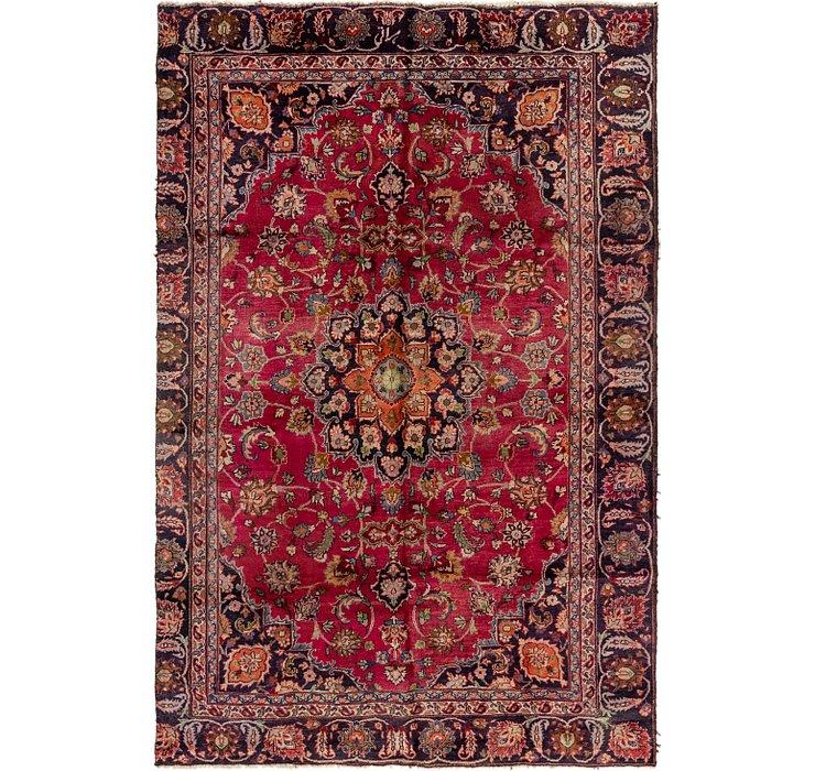 5' 8 x 8' 8 Mashad Persian Rug