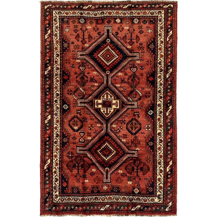 5' 3 x 8' 2 Ghashghaei Persian Rug