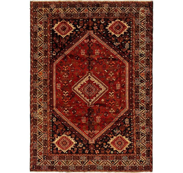 6' 10 x 9' 6 Ghashghaei Persian Rug