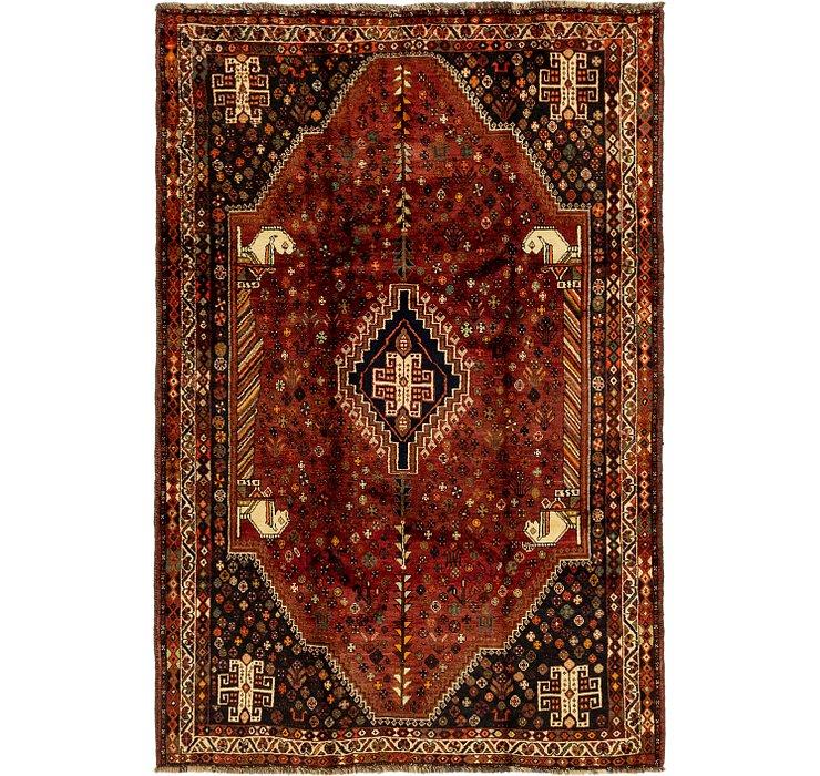 5' 6 x 8' 2 Ghashghaei Persian Rug