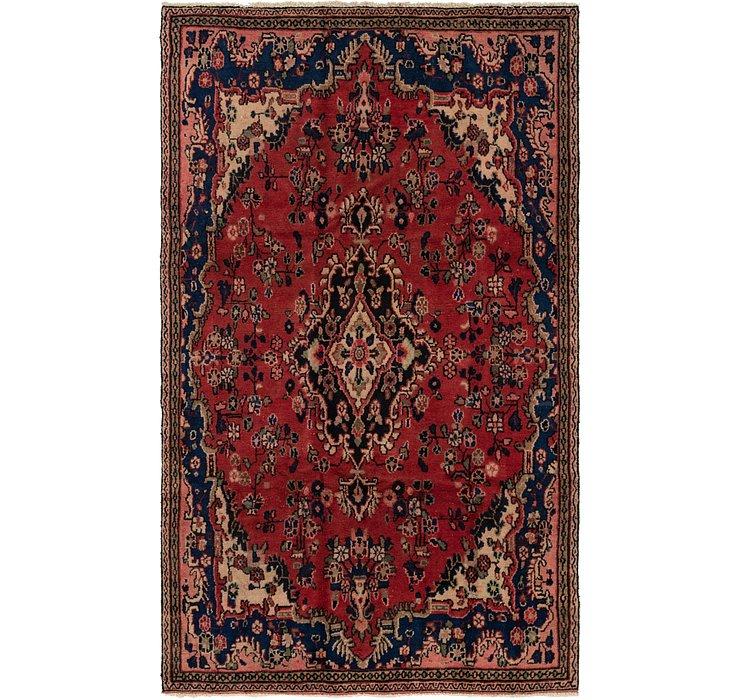 5' x 8' 8 Hamedan Persian Rug