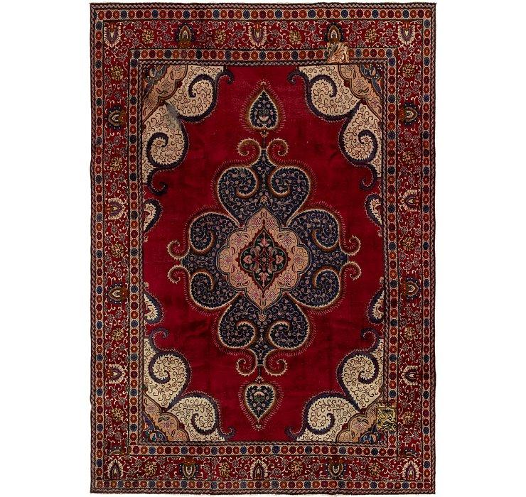 9' 2 x 13' 2 Tabriz Persian Rug