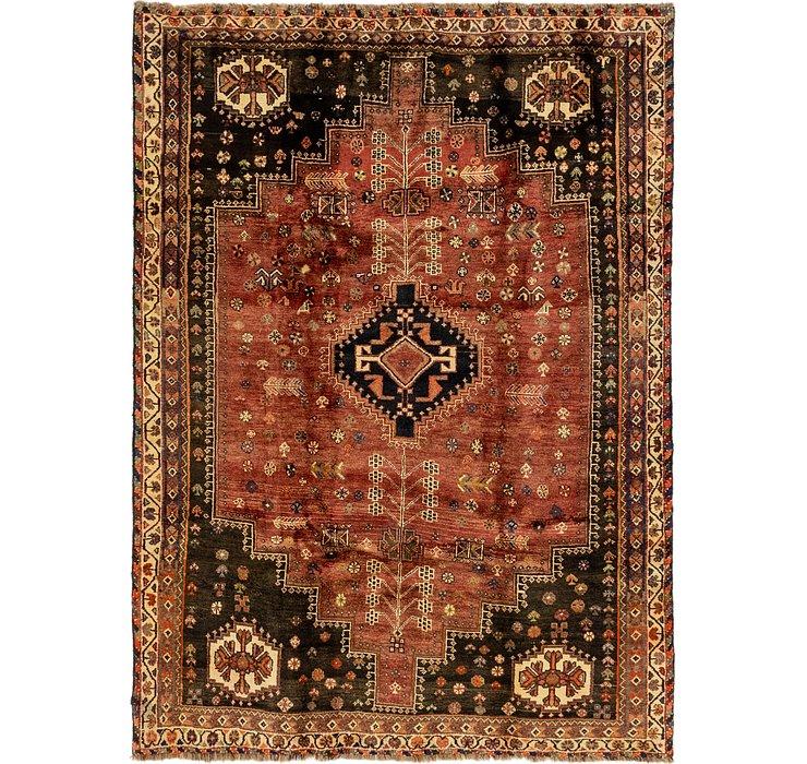 5' 5 x 7' 6 Ghashghaei Persian Rug